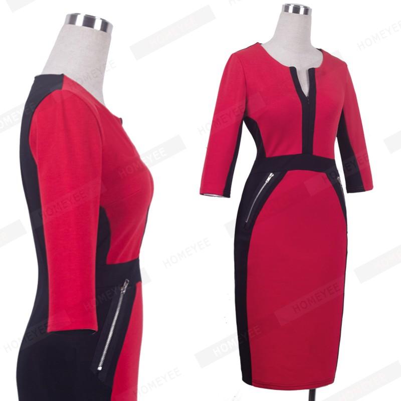 Plus Size Elegant Bodycon Pencil dress 34
