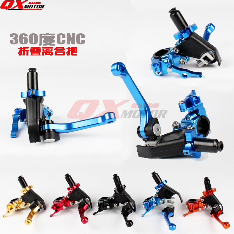 CNC Adjustable Extendable Folding Clutch Lever For YZ YZF WR 125 250 450 MX Motocross OFF-ROAD Motorcycle Modify