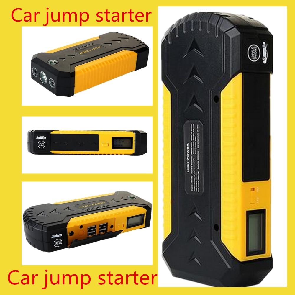 Démarreur de saut de voiture pour chargeur de batterie de téléphone portable à essence multifonction 12 V haute qualité 2018 nouvelle alimentation de secours 4 USB