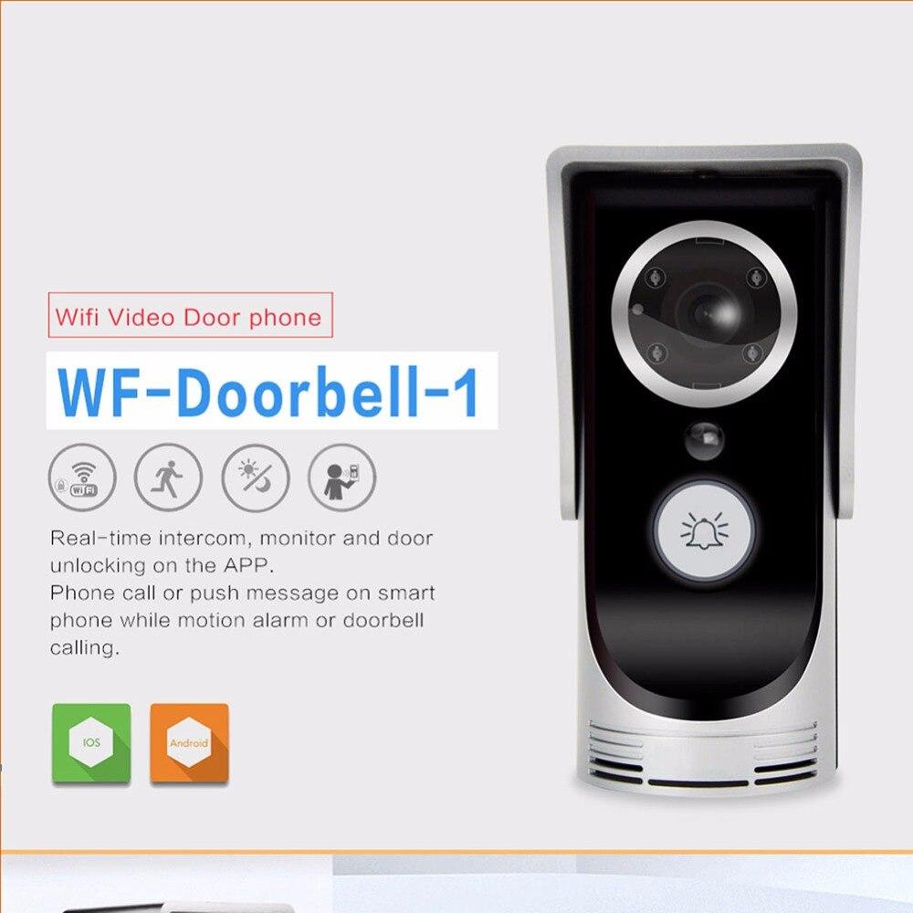 Video Doorbell Door Intercom Waterproof Wifi Video Door Phone Wireless Doorphone For Home Security Apartment Outdoor Doorbell