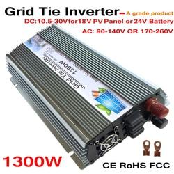 Siatka krawat 1300 W czysta sinusoida inwerter słoneczny dla 18 V 1500 W moc PV  10.5V ~ 30VDC  90 V 140 V/170V ~ 260VAC  50Hz 60Hz  turbiny wiatrowej|Inwertery fotowoltaiczne|Majsterkowanie -