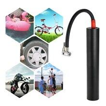 цена на Portable Air Compressor Mini Inflator Handheld Air Pump Electric Ball Pump LCD Display with LED lighting for  Ball Bicycle Car Tire