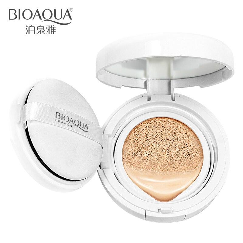 Us 3 99 Bioaqua Air Cushion Bb Cream Concealer Pelembab Foundation Makeup Telanjang Kuat Pemutih Wajah Kecantikan Makeup Di Bb Cc Krim Dari
