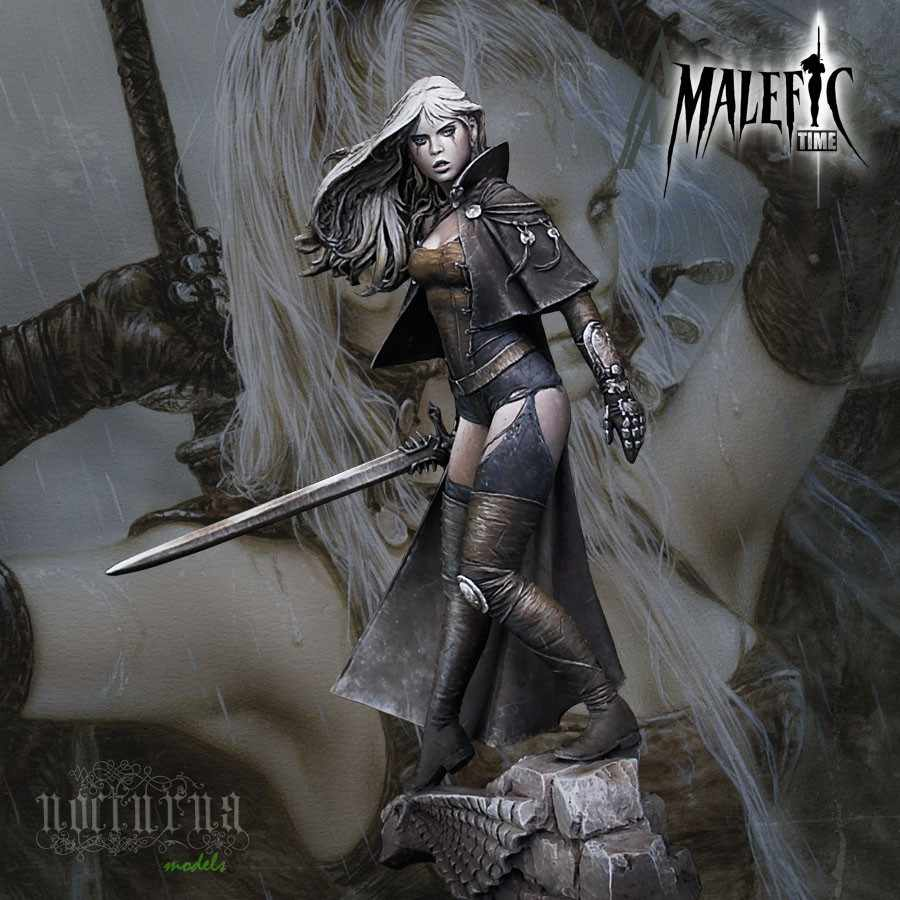 [Loong Way Miniatures] Nocturna Models LUZ, NEW YORK 75mm  Resin Miniature