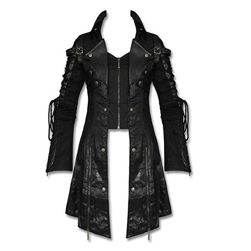 Punk Winter Man Long Sleeve Poison Jacket Goth Gothic Rock