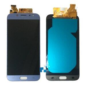 Image 5 - 5.5 AMOLED For Samsung Galaxy J7 2017 Display J730 J730F J730M J730Y LCD Display + Touch Screen Digitizer Glass Panel J730 LCD