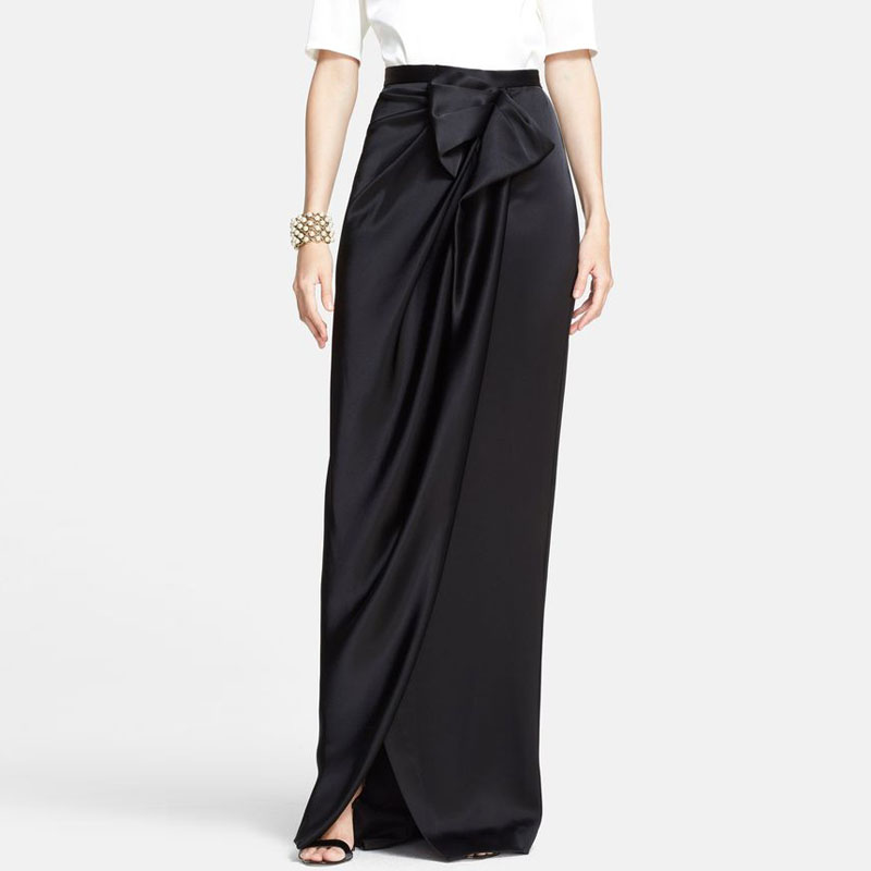 Online Buy Wholesale long black evening skirt from China long ...