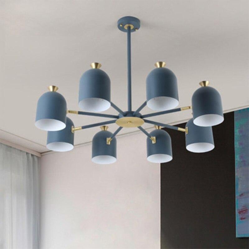 Lámpara LED de suspensión colorida decorativa del hogar de la lámpara de luz interior LED para la sala de estar
