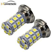 2 sztuk P26S LED moto rcycle reflektor żarówka DC 6 V 12 V 8 W 720LM 6000 K moto światła 5050 27SMD skuter akcesoria lampa przednia do motocykla