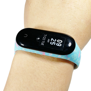 Image 5 - BOORUI mi band 3 strap Comfortable Colorful mi band strap with varied flowers printing for xiaomi miband 3 smart bracelets