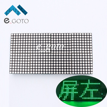 16×32 Dot Matrix Control Display Module DIY Kit Dual-Color Red Green Electronic Fun Kit