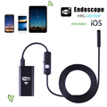 5M 6-LED 2.0 Megapixel HD WiFi Waterproof Endoscope Boroscope Inspection Camera for iOS Android Phone Tablet Windows System