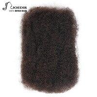 Joedir Brazylijski Remy Ludzkich Włosów Rozszerzenia Afro Perwersyjne Luzem 50 g/sztuka 3/4 Pakiety Mogą Pełne Głowy Szydełko Plecionki Włosów włosy
