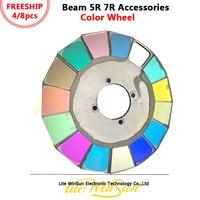 Litewinsune Farbe Rad für Strahl 5R Strahl R7 Strahl 280 watt Moving Head Beleuchtung 14 Farben + Offen-in Bühnen-Lichteffekt aus Licht & Beleuchtung bei