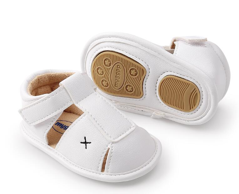 HONGTEYA Summer Baby moccasins hard Soled Fashion Prewalkers Boys girls Kids Newborn Infant Toddler First Walkers Crib shoes