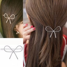 2019 high quality Women Girl Geometric Openwork Butterfly Hairpin Hair Clips Headdress Hair Accessories   5.24djl