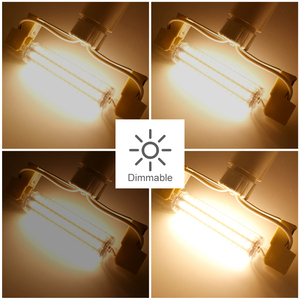Image 4 - ANBLUB Dimmable Bulb R7S LED Corn 2835 SMD 78mm 118mm 135mm 189mm Light 5W 10W 15W 20W Replace Halogen Lamp 85 265V Floodlight