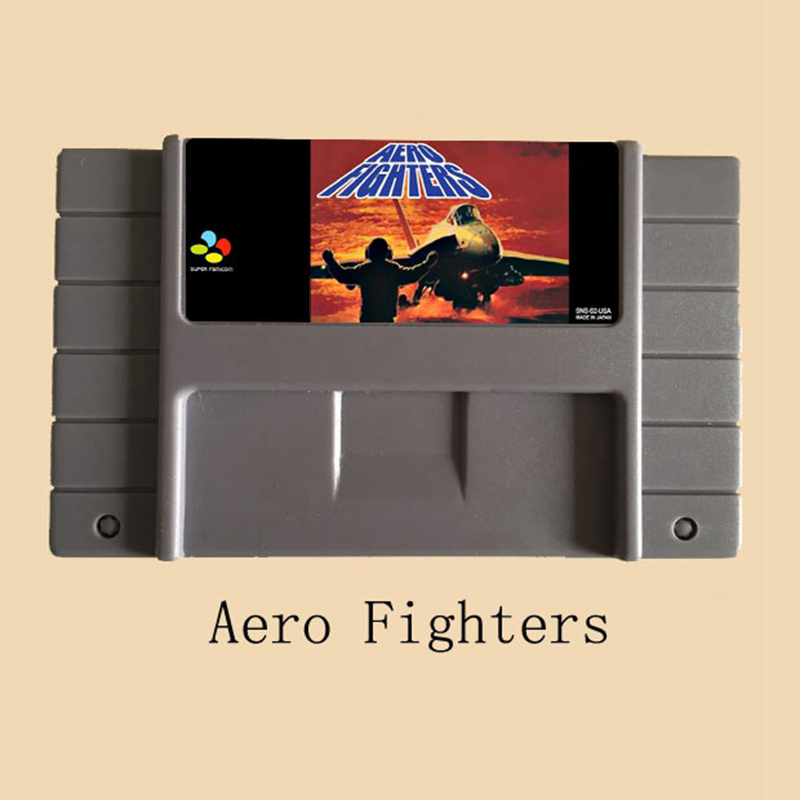 Aero Fighters 16 bit Super Game Card For NTSC/PAL Game Player