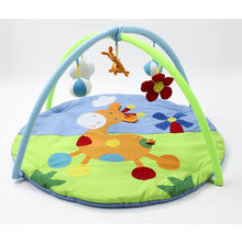 OLOEY Pouch Practical-Storage Toys Play-Mat 90*90*50cm Carpet in the Nursery Kids Carpet Deer Frog Baby Activity Toys#Mat003(China)