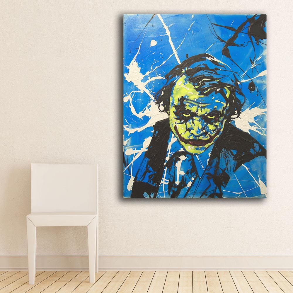 Direct Selling Print Oil Painting Wall painting joker Home Decorative Wall Art Picture For Living Room painting