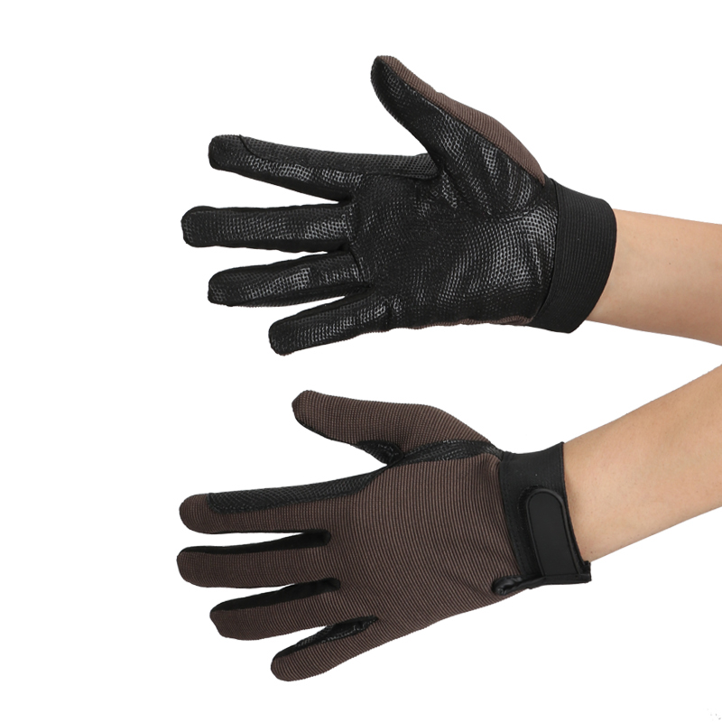 Horse Riding Gloves Non-slip Windproof Gloves Equipment For Horse Rider Horse Riding Accessory Horse Racing Equestrian Glove