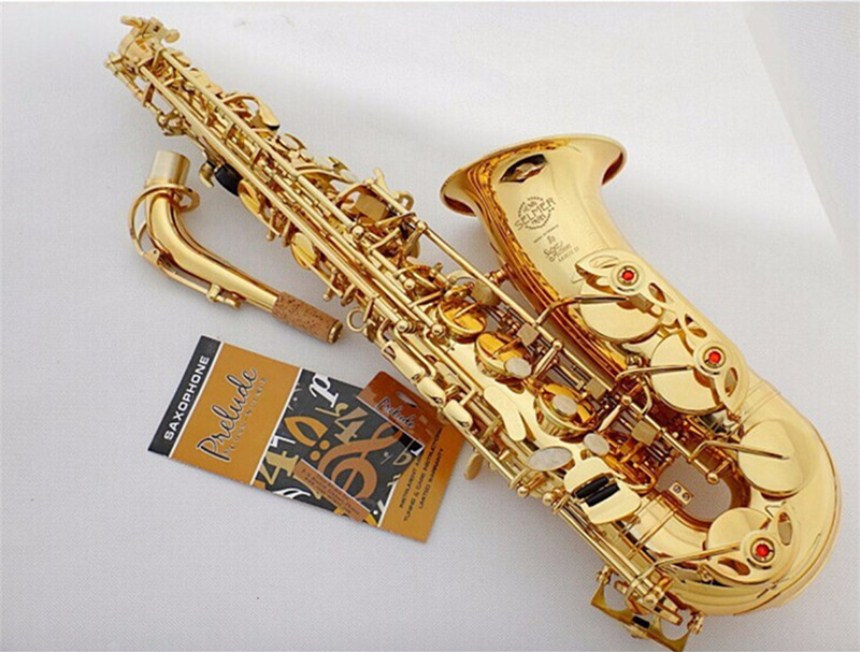 2018 Selling Super Action 80 series ii sax France High Quality Instrument E Flat music professional