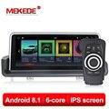 MEKEDE DVD Do Carro Multimedia player 6 núcleo android 8.1 jogador Do Carro DVD GPS de navegação para BMW série 3 E90 E91 e92 E93 2005-2012