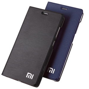 Image 1 - Xiaomi redmi 5 plus case cover redmi 5 flip cover PU leather back case redmi5 global redmi 5Plus Kickstand original OEM Case