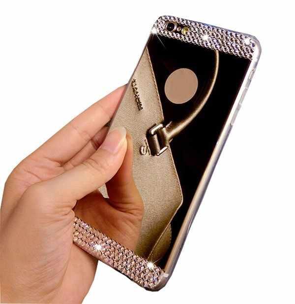 3D Стразы чехол для samsung Galaxy A10 A30 A50 M10 M20 S10 S9 S8 плюс S10E S6 S7 край A6 A8 A7 A9 2019 J4 J6 J8 плюс Чехол