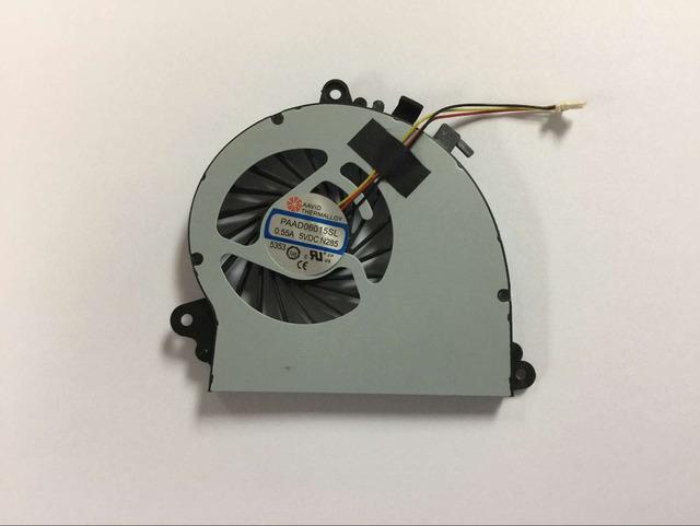 Novo Ventilador de Refrigeração da CPU para MSI GS70 GS72 MS-1771 MS-1773 GTX 765 M ventilador Portátil Número da peça PAAD06015SL N285