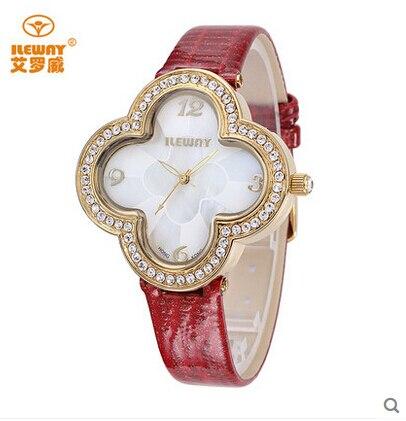 ileway Ms watch fashion trends students watch waterproof diamond business ladies fashion quartz watch