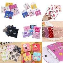 1PC 새로운 위생 수건 냅킨 패드 탐폰 지갑 홀더 케이스 가방 주최자 파우치 걸스 여성 위생 휴대용 미니 가방