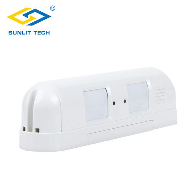 Sensor de movimiento Pir de cortina con cable, Detector de movimiento Pir de cortina antirrobo IP55, resistente al agua, Sensor pasivo antimascotas, sistema de alarma antirrobo para el hogar