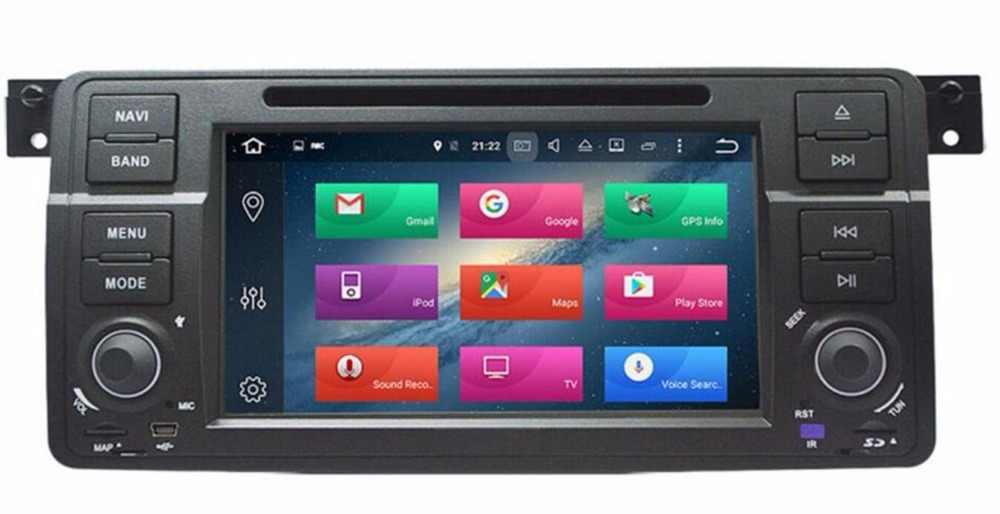 4 аппарат не привязан к оператору сотовой связи 7 ''радио Android 8,0 Octa Core dvd-плеер для автомобиля gps для BMW E46 Sedan/Rover 75 1999 2000 2001 2002 2003 2004 2005/MG ZT