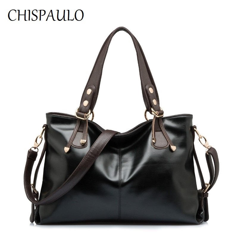 CHISPAULO Women Bags Brand 2017 Luxury Brand Women Genuine Leather Handbags Cow Crossbody Bag Designer Handbags