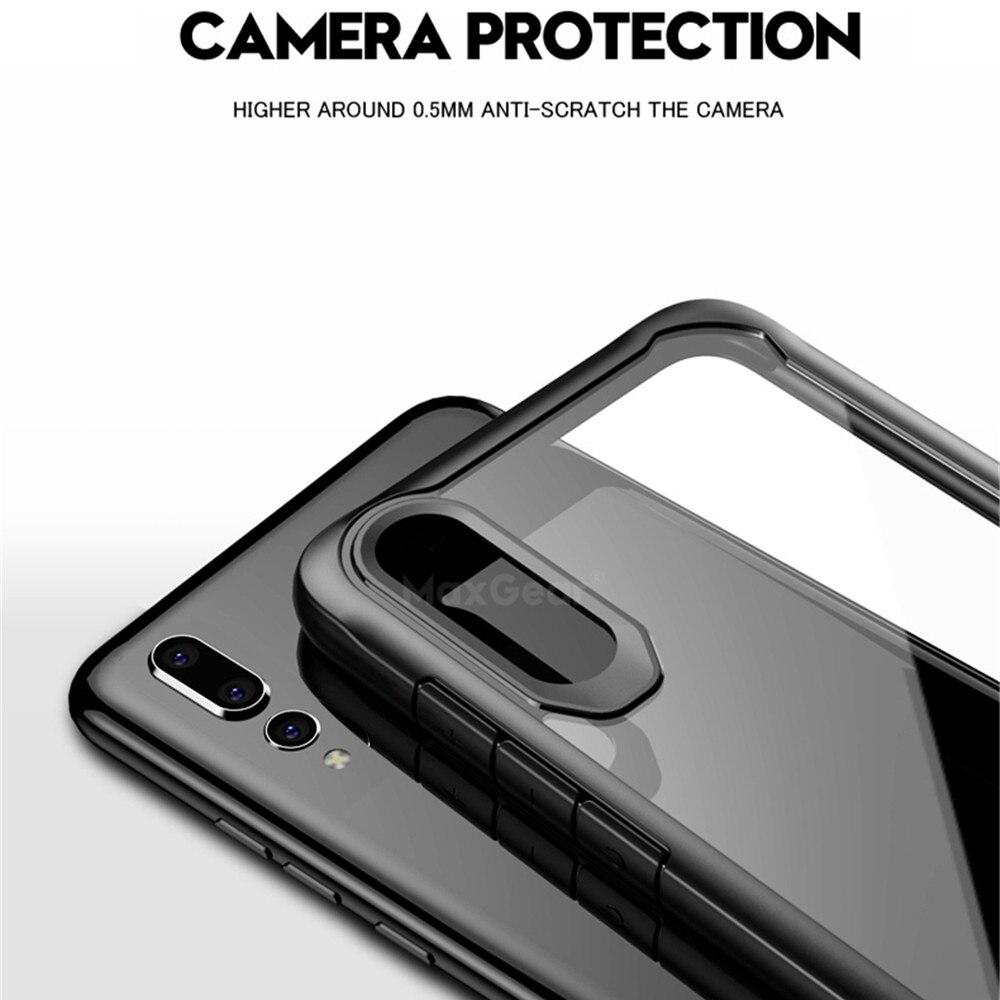 Shockproof Phone Case For Huawei P20 P30 Pro Mate 10 20 Lite Nova 2i 3E 3 3i Nova 4 Y6 2018 Y9 2019 Transparent Clear Soft Cover
