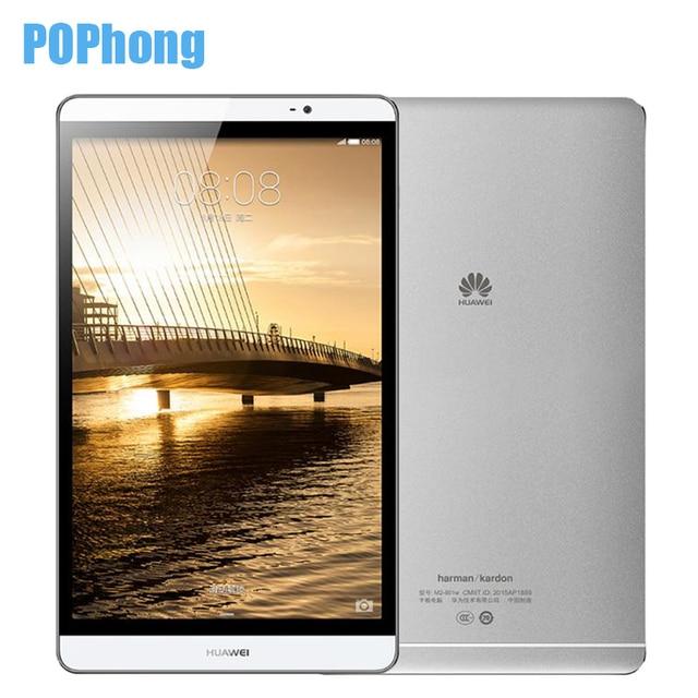 Оригинал Huawei MediaPad M2 8.0 Tablet PC 3 ГБ Оперативная память 16 ГБ Встроенная память Kirin930 Octa Core 8.0 дюймов 1920X1200px 8MP 4800 мАч WI-FI