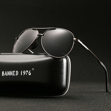 HD polarized 2018 fashion hot sell Sun Glasses Men's Sunglasses Car Drivers Goggles Anti-Glare Sun glasses Women Driving Glasses