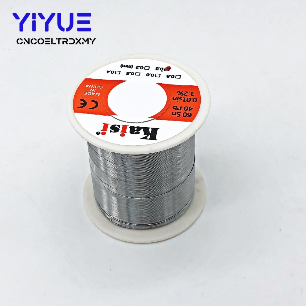 0.3mm/0.4mm/0.5mm/0.6mm 150g Flux 1.2% Rosin Core Tin Lead Solder Wire Sn60 / Pb40 for Welding Works Price $7.47