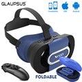 GLAUPSUS VR ИДТИ Виртуальной Реальности Очки Складные Мини VR Коробка 3D VR игра Гарнитура для 4.7-6.0 дюймов Телефон 96 Градусов УГОЛ ОБЗОРА + Moucte 052