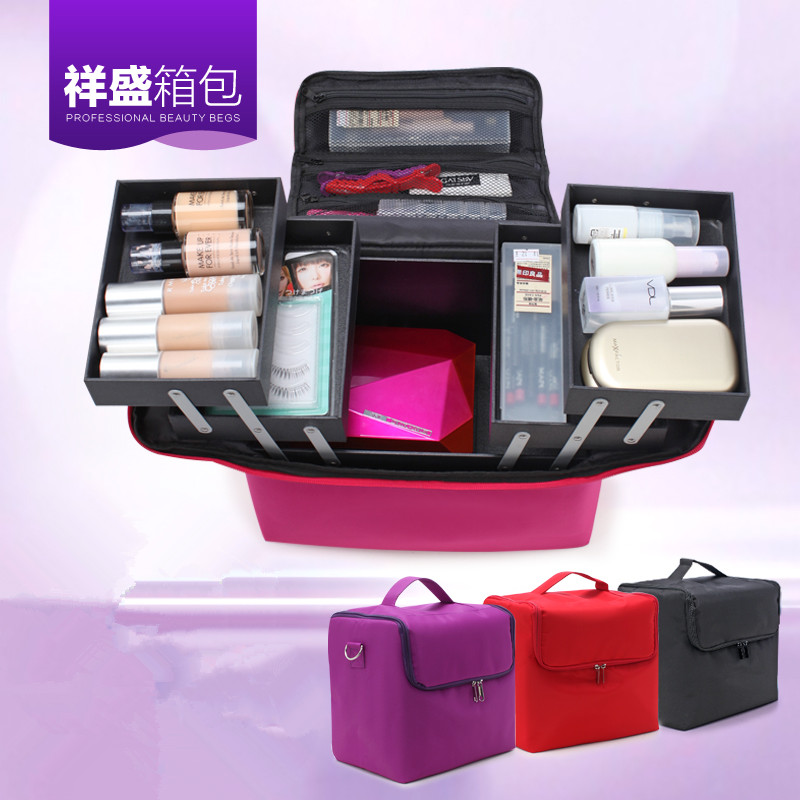 large capacity Cosmetic bag makeup bag Waterproof wash bag ,NICE Beauty