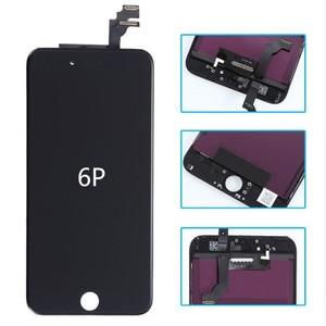 Image 5 - Класс AAAA + + для iPhone 6 6S Plus 7 lcd с 3D силой кодирующий преобразователь сенсорного экрана в сборе для iPhone 6 plus дисплей без битых пикселей