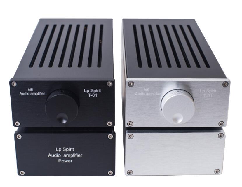 цена на Pure Class A 1969 Amplifier Computer Desktop Mini Merge Split Type HIFI Audio Power Amp