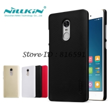 Xiaomi Redmi Note 4X Case Redmi Note 4X Cover Nillkin Frosted Shield Back Case For Xiaomi Redmi Note 4 Global Version Gift Film
