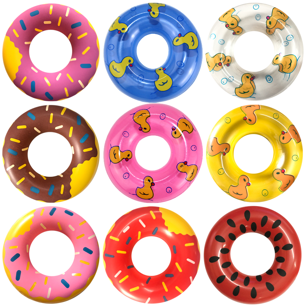 NK 2019 New 5 Pcs Fashion Cute Swimming Buoy Lifebelt Ring For Barbie Doll Accessories Baby Toys best Gift 001A JJ image
