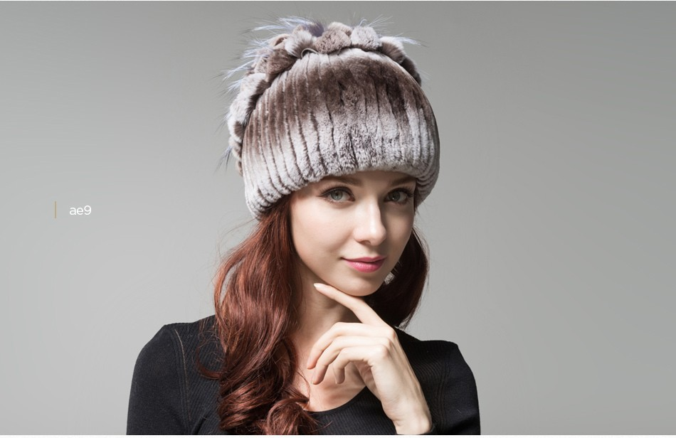 fur winter hats for women PCM003 (21)