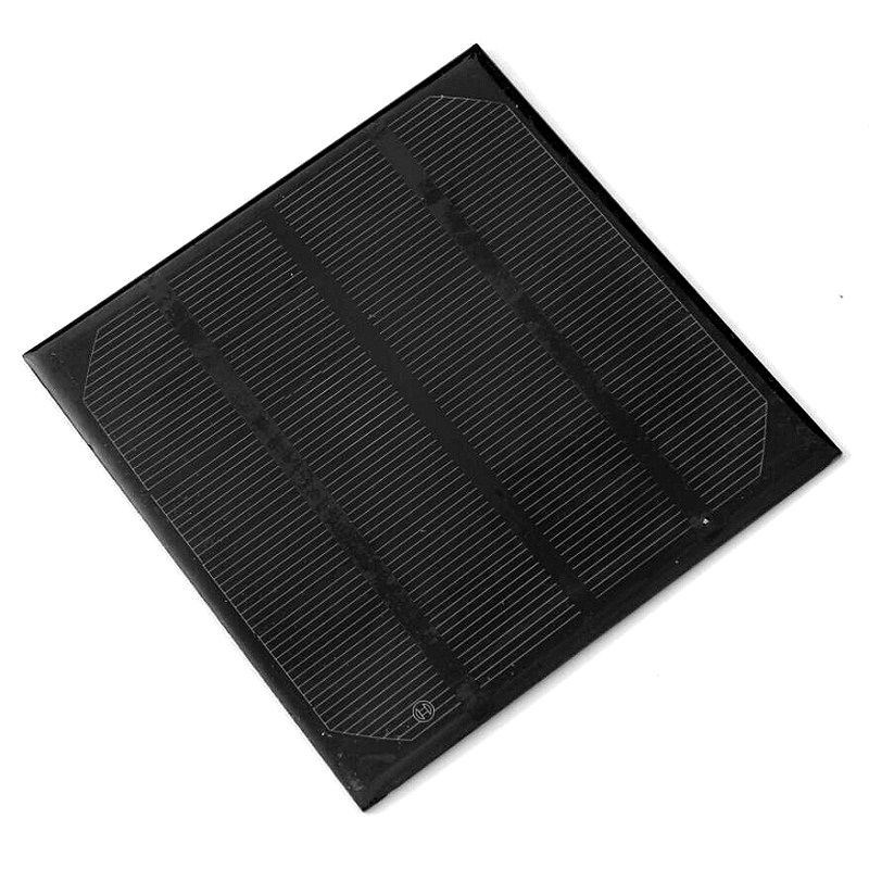 Monocrystalline 6V 2W 0.33A Solar Panel Easy DIY Solar Power 3.6V Battery Charge Solar Cell 115*115MM High Quality Free Shipping