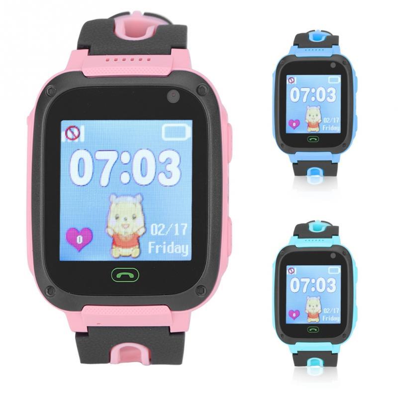 Vornehm Kinder Positioning Smartwatch Touch Wecker Kamera Telefon Taschenlampe Uhr Kind Smartwatchs 2018 Intelligente Elektronik
