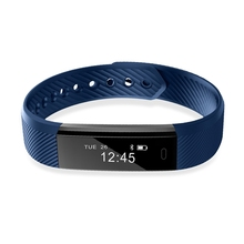 ID115 Sport Smart Bracelet Fitness Tracker Smart band Waterproof Sleep Monitor Step Counter Bluetooth Wristband for IOS Android