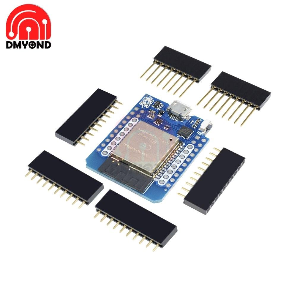 Wemos Mini D1 ESP32 WiFi Bluetooth ESP8266 CP2104 Development Board pour Arduino